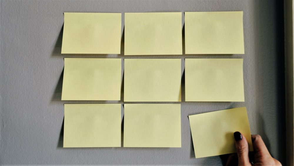 Use Sticky notes as reminders for your Healthy Habits